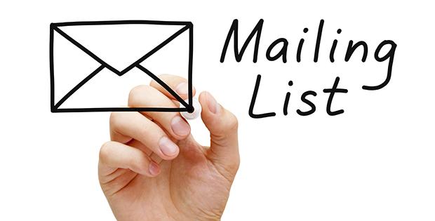 Mailing List