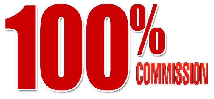 100% commissions